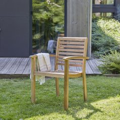 Andria teak outdoor Armchair