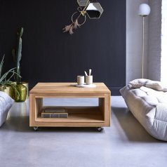 Anoa Square Teak Coffee Table 80