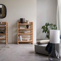 Bücherregal aus Teak 80x115 Sera