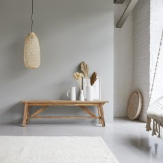 Banco de madera de teca reciclada 160 Filipe