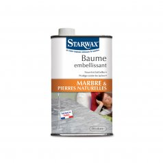 Baume embellissant marbre Starwax, incolore