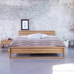 Bett aus Teak 160x200 Minimalys