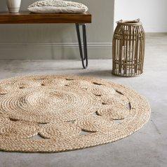 Casatera Teppich aus Jute Aristide 120 cm