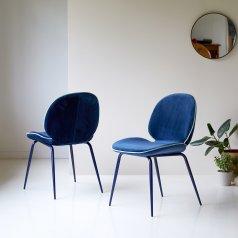 Chaise Uma blue