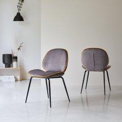Chaise Uma grey