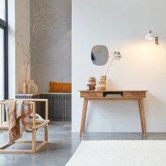 Consola en acacia 117 Oslo