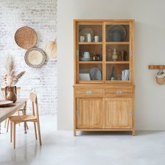Credenza in Teak 120 Coffee Tek Slide