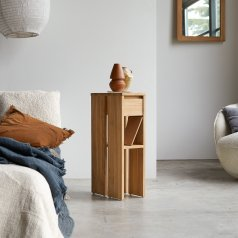 Eden Teak Bedside Table