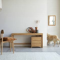 Eden Teak Desk 160