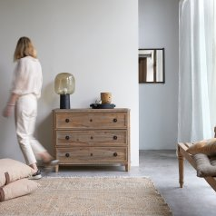 Emily Pine Chest of 3 Drawers