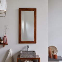Espejo de palisandro 100x50 Kwarto