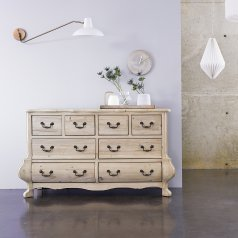 Eugenie Pine Chest of 8 Drawers
