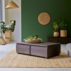 Eva Mahogany Coffee Table 100 x 60