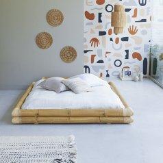 Futonbett aus Bambus für 160x200 Balyss