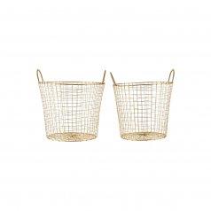 Gigogne Gold Baskets