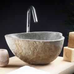Handwaschbecken aus Naturstein Nobu