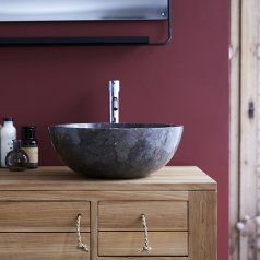 Ibyza Grey Marble Washbasin