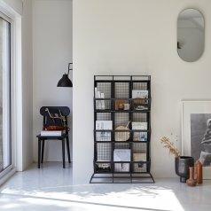 Industriel Metal Locker Shelf