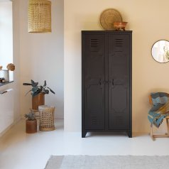Industriel Metal Wardrobe 180