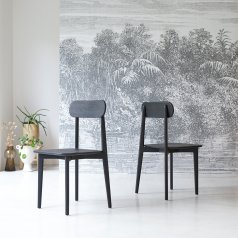 Jonàk Teak Chair black