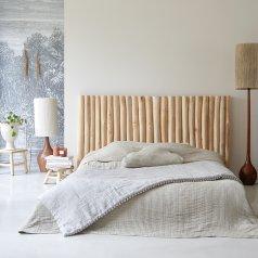 Kopfteil Bett aus Treibholz 180 River