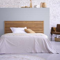 Kopfteil für Bett aus Teak 165 Minimalys