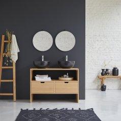 Kwarto Oak vanity cabinet 110