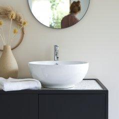 Lavabo in ceramica Hilde