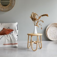 Lina rattan bedside table