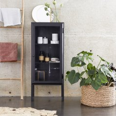 Lison Glazed Metal Bathroom Cabinet 120