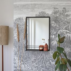 Lison Metal Mirror 70x50