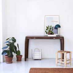 Luna Sheesham Desk 120