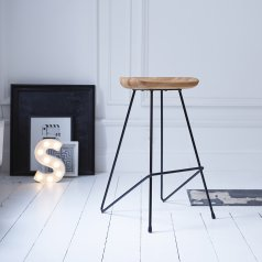 Mari Bar Stool Black