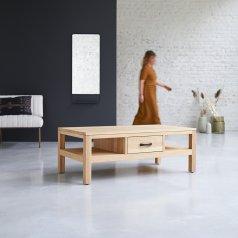 Mesa baja de roble 110x60 Vertigo Oak