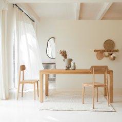 Mesa en teca 180x90 Coffee Tek