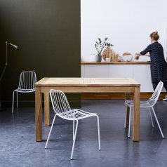 Mesa en teca extensible 140x90 Cloé