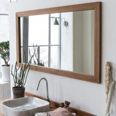 Milano Teak Mirror 140x70