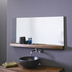 Miles Walnut Mirror 120