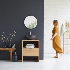 Mueble de lavabo de roble 60 Kwarto Oak
