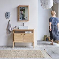 Mueble de lavabo de roble 90 Pola