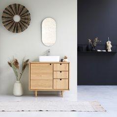 Mueble de lavabo de roble 95 Jonàk Oak