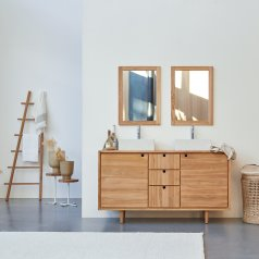 Mueble de lavabo en teca 145 Jonàk