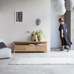 Mueble de TV de roble 150 Pola