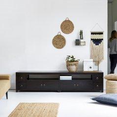 Mueble de TV wengé 220 Actuo Aka