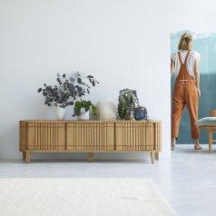 Mueble TV de roble 160 Koopar