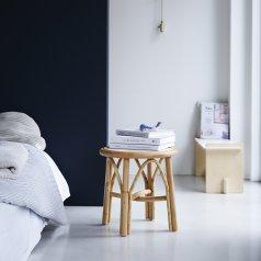 Nachttisch aus Rattan Colette