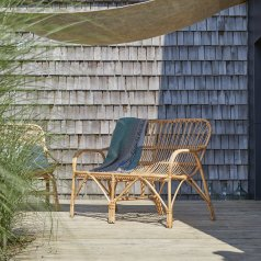 Natural Rattan outdoor Bench