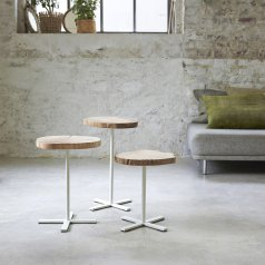 Paani Oak Nested End Tables