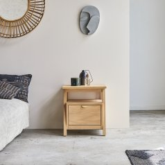Pola oak bedside table