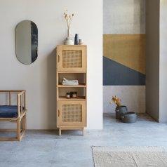 Rafael Mango Bookcase 135x45